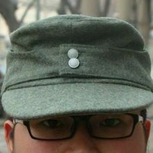 Field-Cap WWII SOLDIER Military-Hat M43 WH German Army WW2 MEN WOOL Reenactments-Equipment