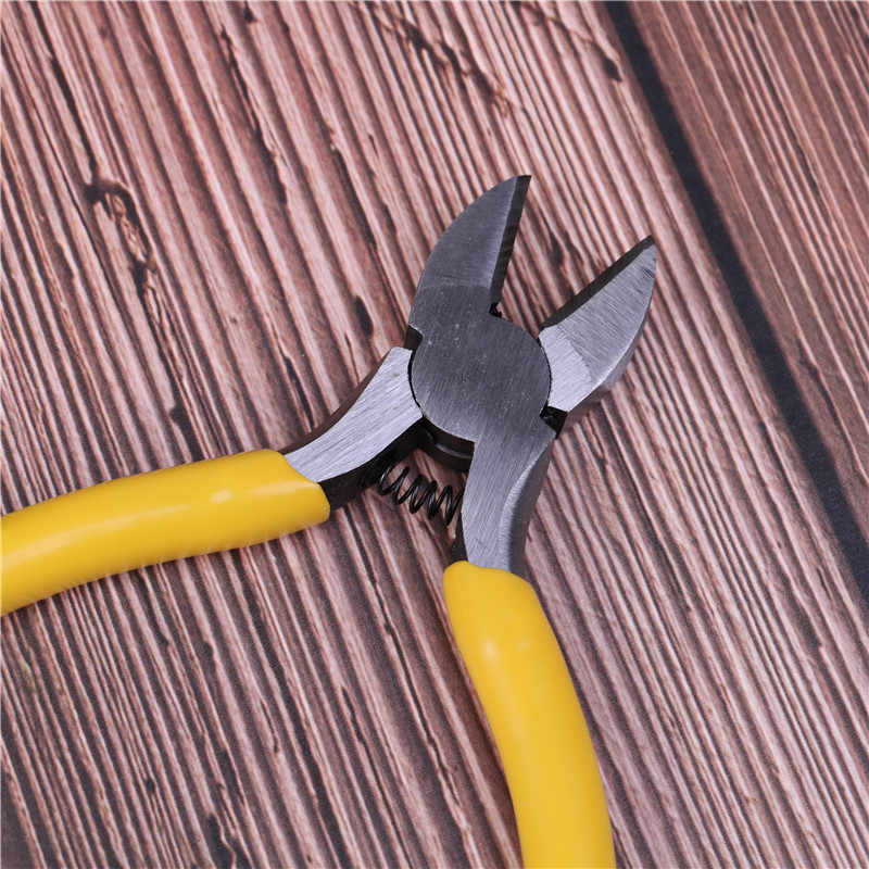 와이어 커터 펜치 Electrican 작업 대각선 펜치 정원 전기 수리 도구 전기 케이블 절단 도구