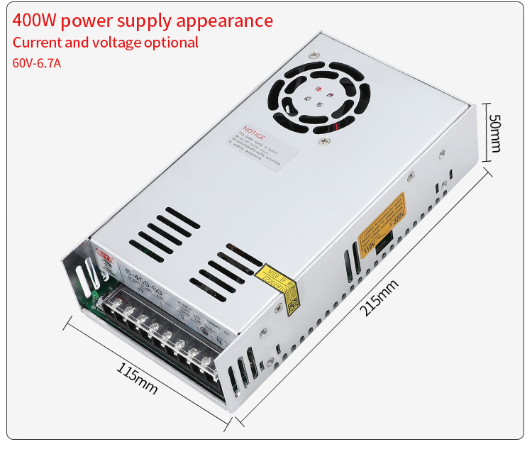 H5060b2ef65954d718b962248b782d446n - NVVV switching power supply 15 w-400 w ac110/220v dc 5v 12 v 24 v 36 v 48 v60 v dc power supply (400w60v6.7a for RD6006)