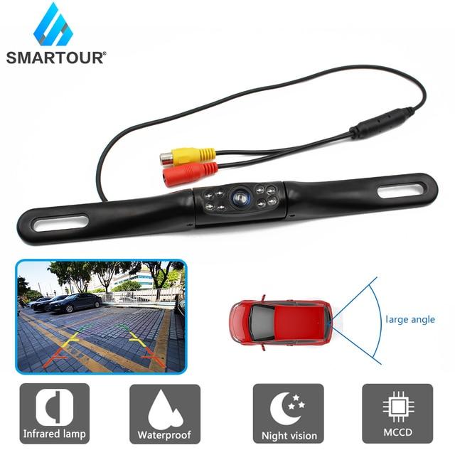 Smartour-caméra à cadre de plaque ue RU | Appareil photo étanche, caméra arrière 8, appareil photo de sauvegarde à infrarouge, aide au stationnement, nouveau 2020