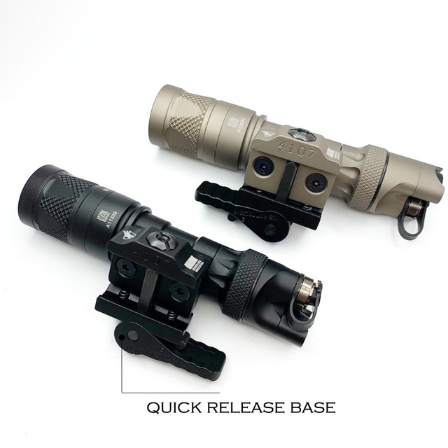 Tactical Light M323V Scout Light Constant & Strobe LED 500 Lumens with ADM Mount for Rifle Hunting Flashlight 2