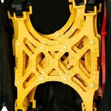 2 шт. противоскользящая цепь для снега шины утолщение инструмент срочное Высокое качество для внедорожника автомобиля грузовика цепи для снега инструменты