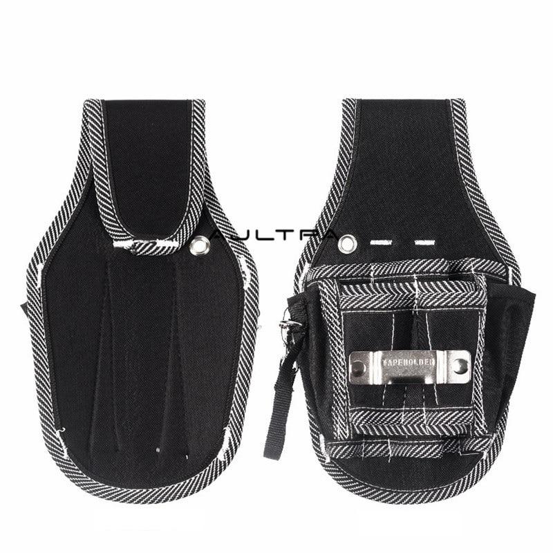 90Pcs 9 In 1 Screwdriver Drill Hammer Storage Waist Pocket Tool Bag Electrician Waist Pocket Tool Belt Pouch Bag
