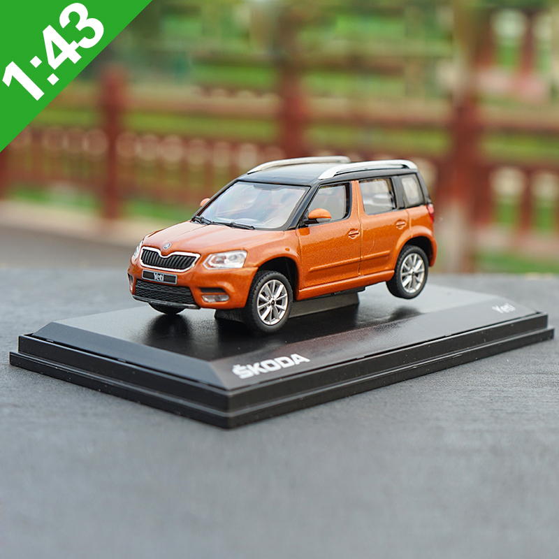 1:43 SKODA Yeti Alloy Model Car Static High Simulation Metal Model Vehicles With Original Box