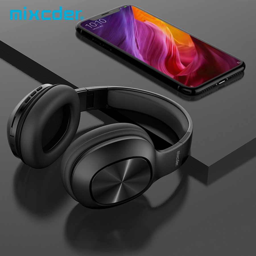 Mixcder HD901 Wireless Headphones Over ear Stereo Bluetooth Headset With Microphone Support TF Card for TV Phones PC Tablets
