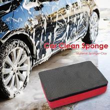 Автомобильный Воск для ногтей Pad инструмент для чистки Волшебная глина губка автомобильный коврик для очистки ластик