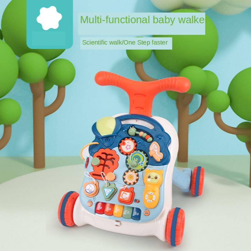 Hot-selling baby walker trolley multi-function walker 6-18 months walker toy walker baby stroller