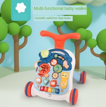 Hot-selling baby walker trolley multi-function walker 6-18 months walker toy walker baby stroller a generation of fat baby stroller toy car stroller walker walker toys for children