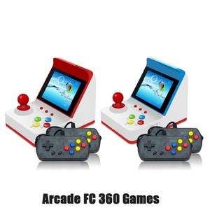 A6 mini arcade video game console children's gift toys8-bit handheld game console support TV Built-in 360 retro games