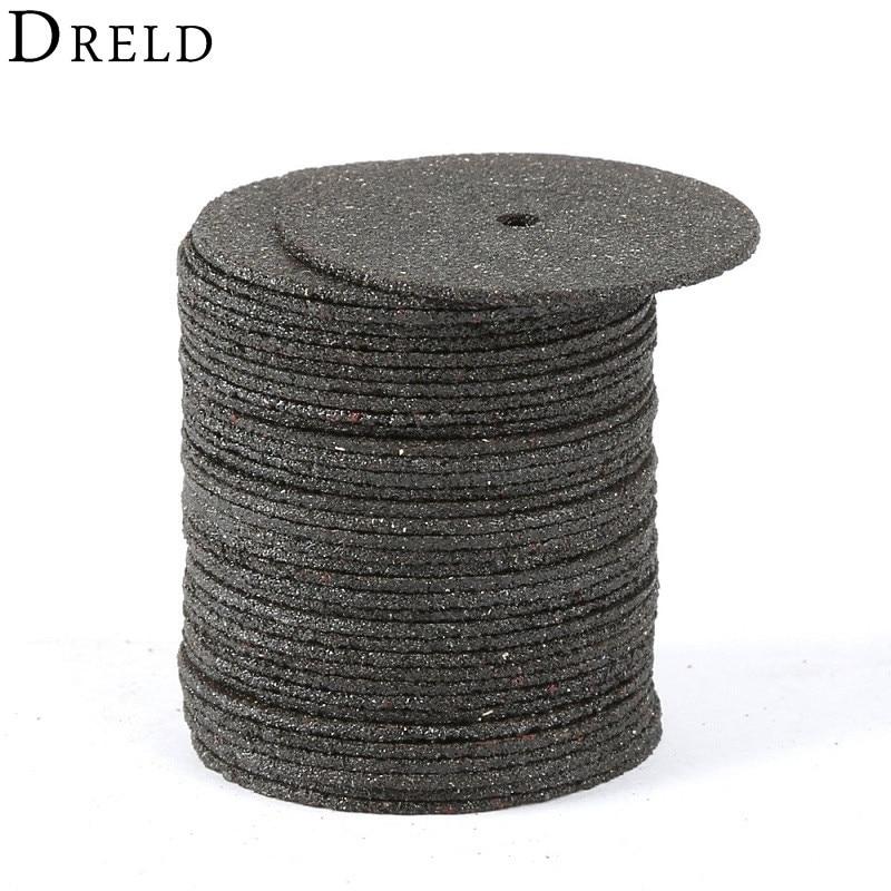 36 piezas Accesorios Dremel Discos de corte abrasivo de 24 mm Disco de ruedas de corte para herramientas rotativas Dremel Herramienta eléctrica de corte de madera de metal