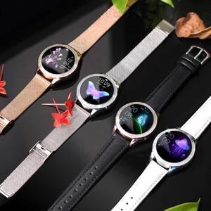 Image 5 - KW20 스마트 시계 여성 IP68 방수 손목 시계 심장 박동 블루투스 시계 여성 팔찌 2019 레이디 시계 VS KW10 Smartwatch.