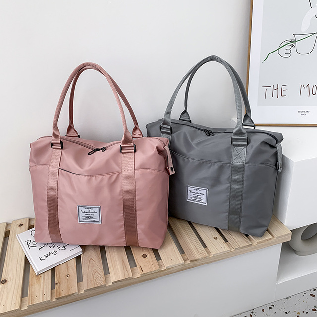 Men's and women's same portable travel bag large capacity dry wet separation fitness bag portable exercise Yoga Bag Luggage Bag