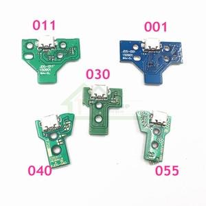 Image 1 - 50 個 JDM 011 JDM 001 JDM 030 JDM 040 JDM 055 充電ボードの交換ソニーのプレイステーション 4 PS4 コントローラ led ボードの修理