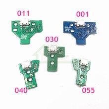 50 pçs JDM 011 JDM 001 JDM 030 JDM 040 JDM 055 placa de carregamento substituição para sony playstation 4 ps4 controlador led placa reparo