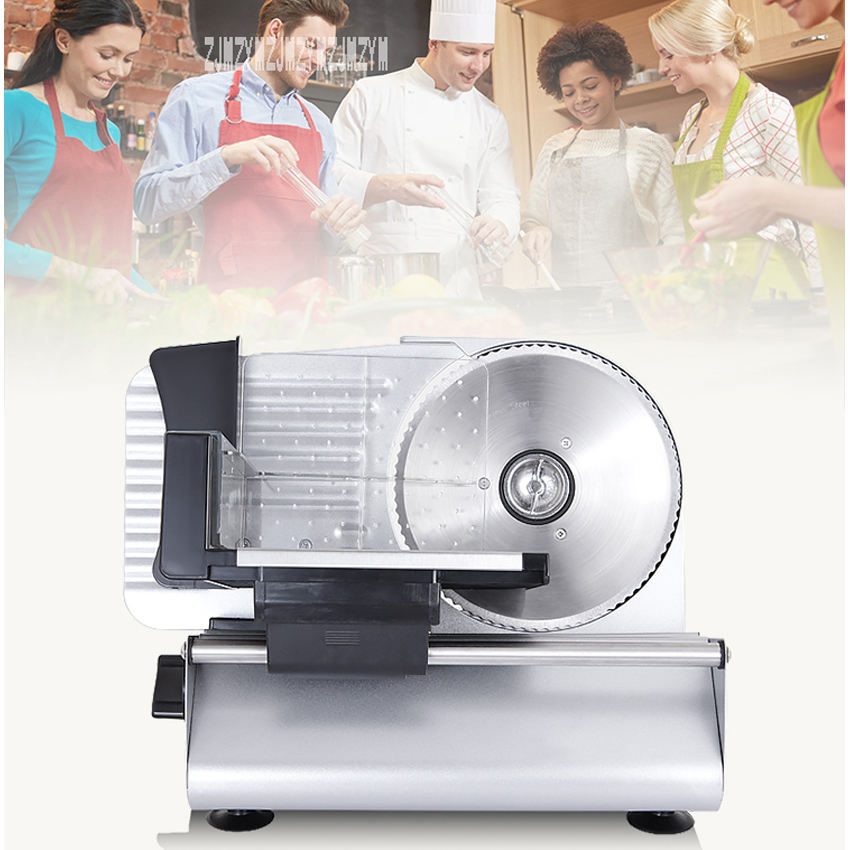Meat Slice Electric Slicer Household Commercial Toast Bread Manual Planing  Beef Roll Meat 220V 200W 120R/MIN MS-305C