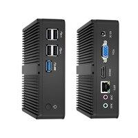 XCY Intel Mini Pc double coeur Windows 10 avec Vga Hdmi ordinateur de bureau j1900 j1800 Minipc Micro portable Htpc ordinateur sans ventilateur