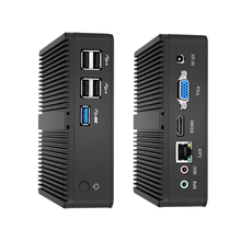 xcy intel N2808 mini pc Dual-cores 2.00GHz Windows 10 with VGA HDMI Mini Computer Desktop office J1900/J1800/N3510 minipc micro цена в Москве и Питере