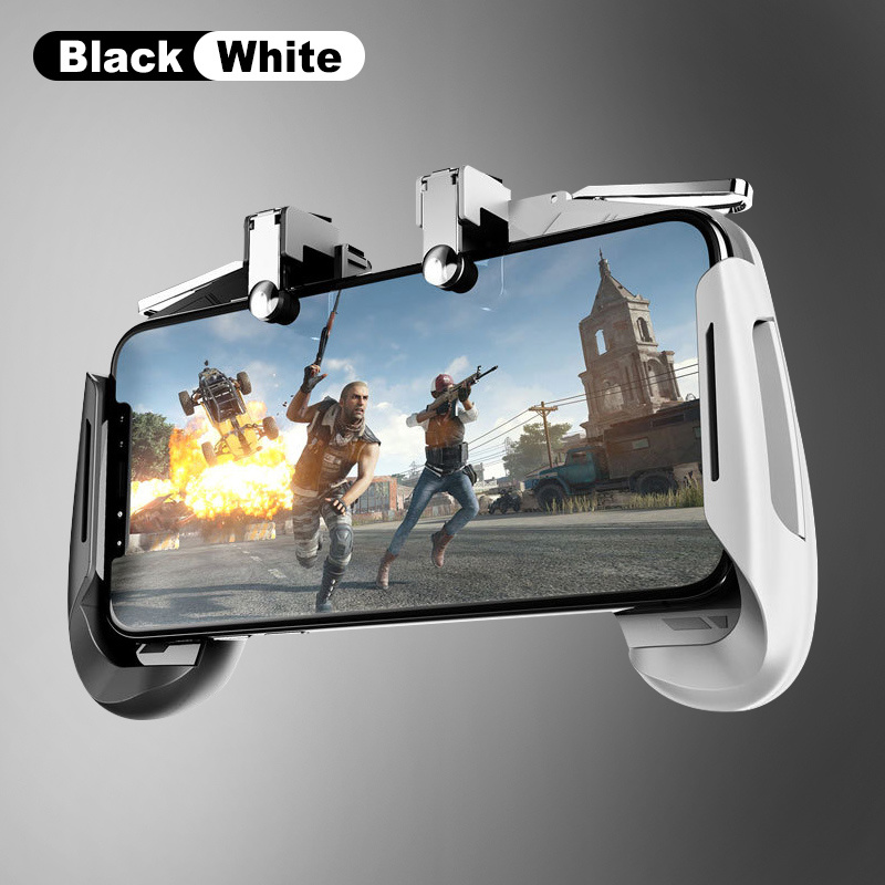 Colorful AK16 Gaming Joystick Gamepad Trigger Fire Button L1R1 Shooter Stretchable PUBG Game Controller for IOS Android Phone