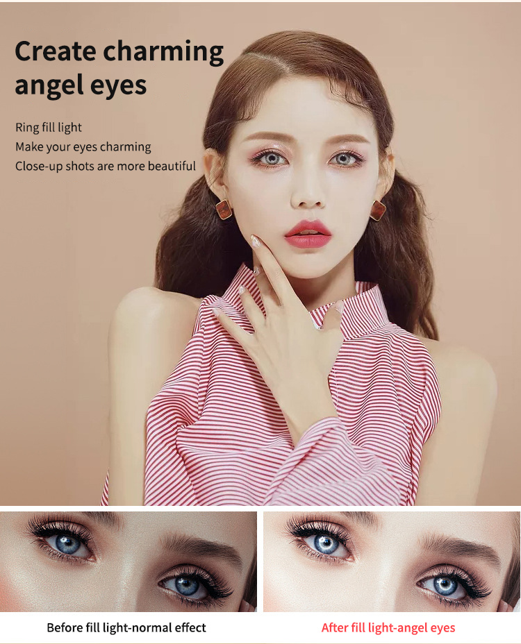 """H50628a34b632401f9480af32e768278fa 14"""" LED Ring Light Photographic Selfie Ring Lighting with Stand for Smartphone Youtube Makeup Video Studio Tripod Ring Light"""