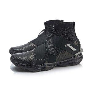 Image 4 - Li ning zapatos de bádminton profesionales para hombre, calzado deportivo ligero con forro de espuma, en la nube, AYAP015 JAS19, 4,0