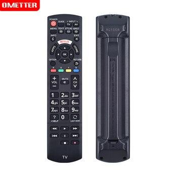Nuevo reemplazo Control remoto N2QAYB001008 RC1008 para Panasoni TV LCD LED controlador con NETFLIX