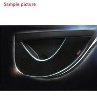 עבור הונדה crv crv 4pcs בד דלת להגנת שטיחוני נוגדי בעיטה דקורטיביים רפידות עבור הונדה CRV 2007-2010 (4)