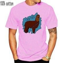 Chewbacca t shirt chewbacca alpaca camisa masculina 6xl camiseta impressionante impresso 100 algodão manga curta clássico tshirt