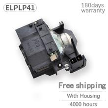 استبدال ELPLP41 العارض مصباح V13H010L41 لمبة ل E PSON S5 S6 S6 + S52 S62 X5 X6 X52 X62 EX30 EX50 TW420 W6 77C EMP H283