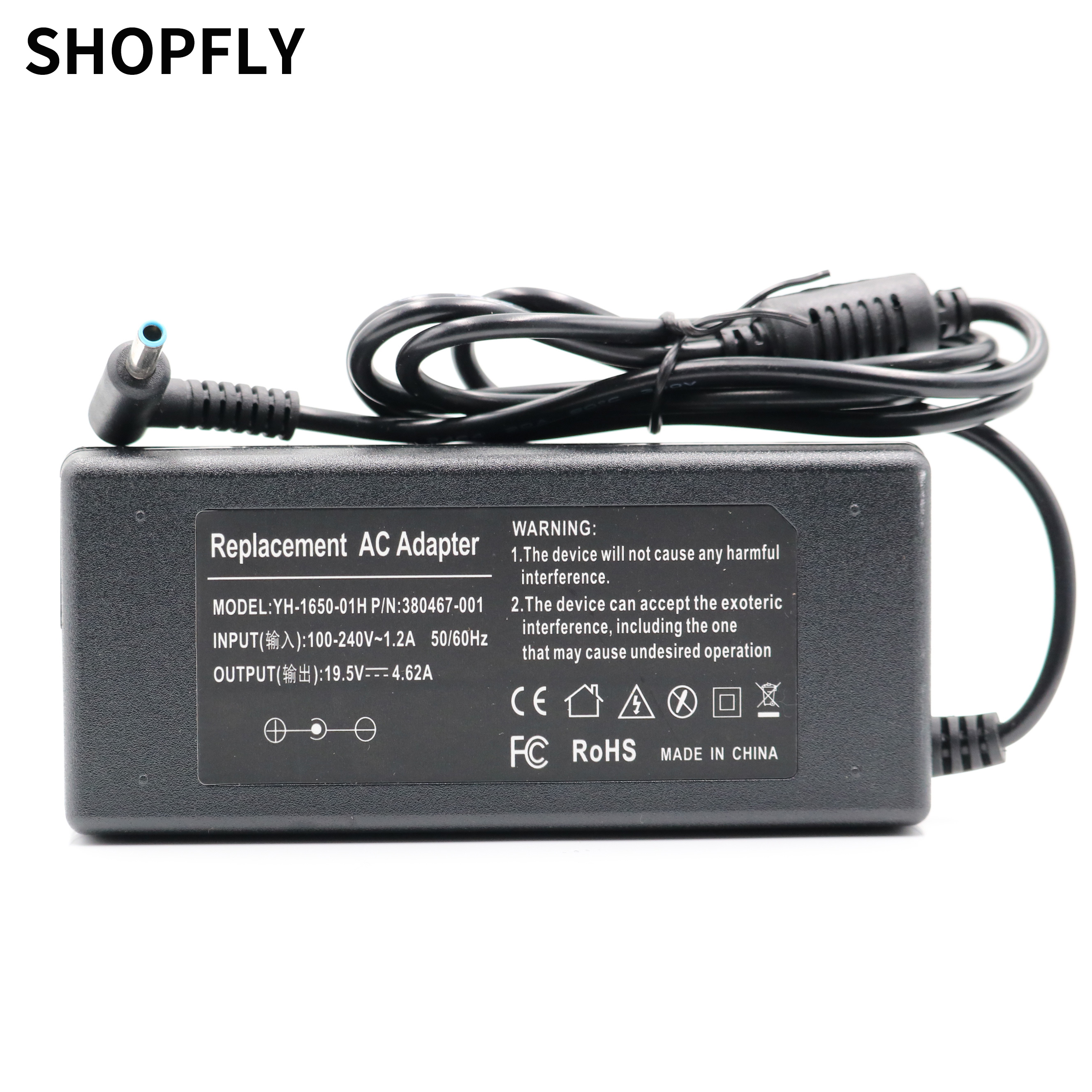 19.5V 4.62A 90W 4.5*3.0mm AC Laptop Charger Power Adapter For HP PPP012C-S 710413-001 Envy 17-j000 Charger Notebook