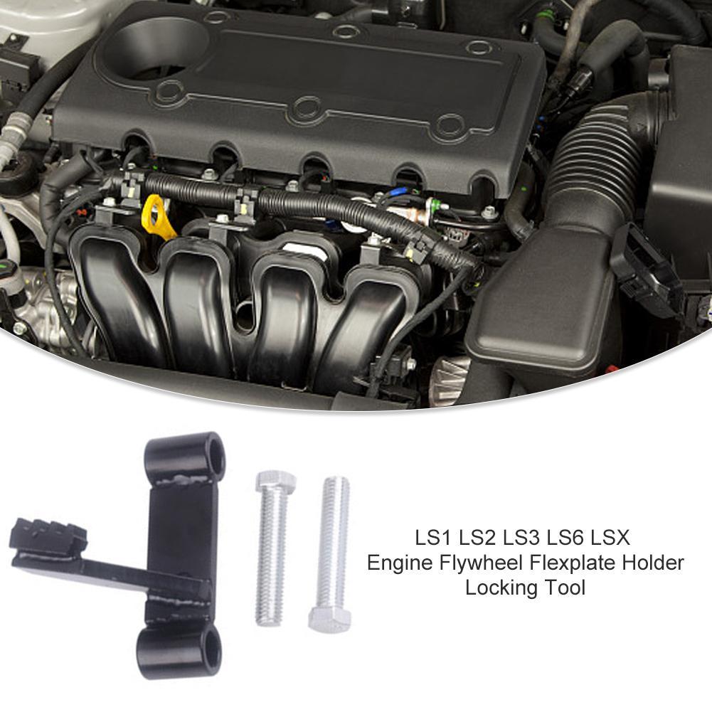 Car Engine Holder Fixing Tool LS1 LS2 LS3 LS6 LSX Flywheel Flexplate Locking With Balancer Bolt