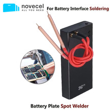 Novecel Adjustable Mini Battery Nickel Plate Spot Welder For iPhone 11 12 Battery Interface Soldering Mobile Phone Repair Tools