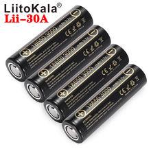 Аккумуляторная батарея LiitoKala Lii-30A 18650, 18650, 3000 мАч, высокий разряд, большой ток 30 А