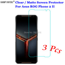"3 Pcs/Lot For Asus ROG Phone 2 II ZS660KL 6.59"" HD Clear / Anti-Glare Matte Front Screen Protector Touch Film Protection Skin(China)"
