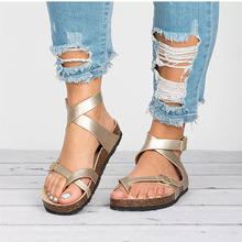 Summer Casual Shoes Women Sandals Flat Beach Shoes