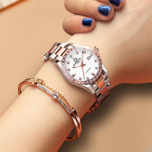 Carnival rhinestone automatic watches women luminous waterproof lady me