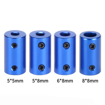 5pc D14L25 Blue Alloy couple 5mm 8mm drive shaft coupling pull coupler rc boat Transmission diy Parts Stepper Motor Accessories цена 2017