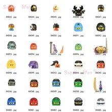 Único ninja kai jay cole zane lloyd wu nya ronin modelos figuras cabeça acessórios blocos de construção brinquedos para crianças série-080