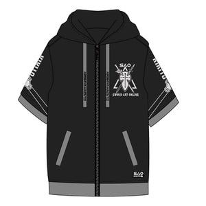 Image 3 - Аниме Sword Art Online Косплей SAO костюмы пальто с капюшоном, с длинным рукавом, футболка повседневные штаны Haori пара повседневной моды костюм