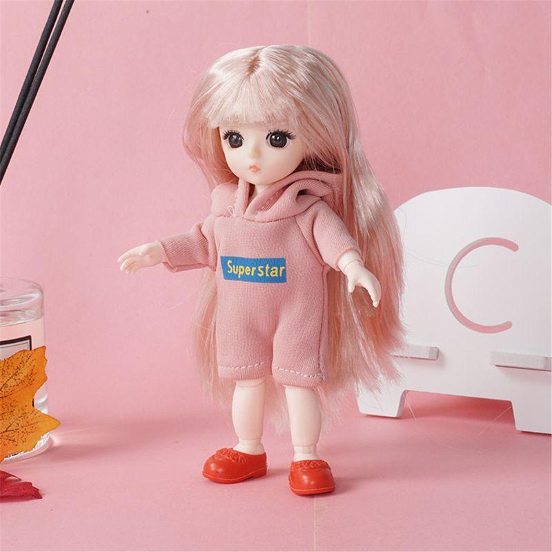 13 подвижных шарнирных кукол 18 см 1/8, игрушечные куклы с тканевой куклой, игрушка для девочек 97BC