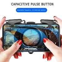 Mobile Phone Gaming Trigger For PUBG Gamepad Game Turbo Fire Button For IPhone 7 8 Plus X For Xiaomi Mi 8 Android
