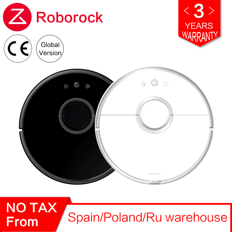 Roborock S50 S55 Xiao mi 2 para Casa Varrendo Esfregar Molhado Aspirador de pó Robótico Aspirador de Pó Inteligente mi Robô Sem Fio controle APP
