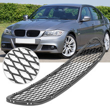 1 Pcs Front Bumper Vents Front Lower Grille Grill Voor Bmw 3-Serie E90 E91 318i 320i 325i 330i 2009-2012 Vervang 51117198906(China)