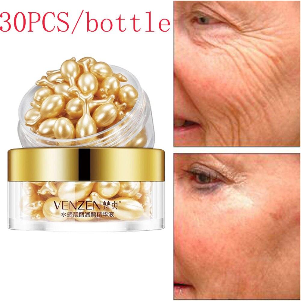 1 Set Hyaluronic Acid Capsules Anti-aging Vitamin E Serum Spot Acne Removing Whitening Cream Capsule Repair Liquid Face Care