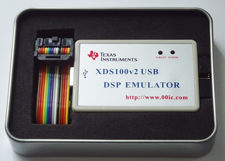 XDS100V2 USB2.0 DSP Emulator Support TI DSP/ARM Core CCS4 CCS5 64bit