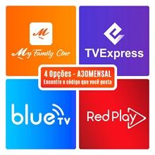 Redplay Brasil Mensal TVE Express TVExpress Minha Família MFC Bluetv cheap GT MEDIA CN(Origin) DIGITAL tvexpress brasil tve express brasil tvexpress mensal recarga tv express tvexpress