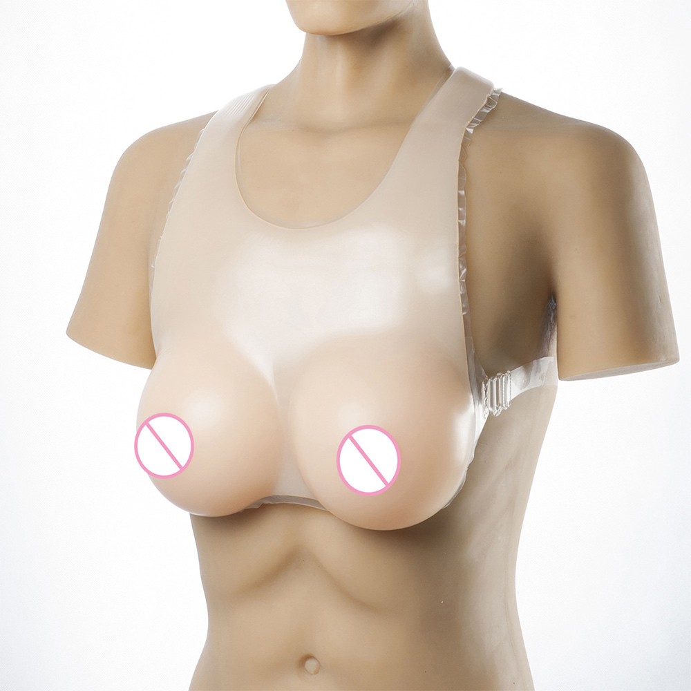 Top Quality Realistic Silicone Breast Forms Fake Breast For Crossdresser <font><b>Shemale</b></font> Transgender Drag Queen Transvestite Mastectomy image