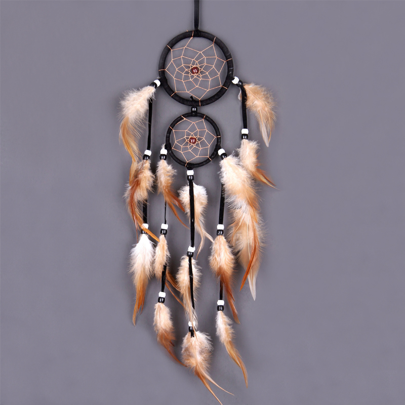 Vintage Home Decoration Retro Feather Dream Catcher Feathers Wall Hanging Dream Catchers Weaving Decor Gifts for Car Room Decor
