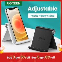 Ugreen – Support de bureau pour téléphone portable, pour iPhone Xiaomi Samsung Huawei