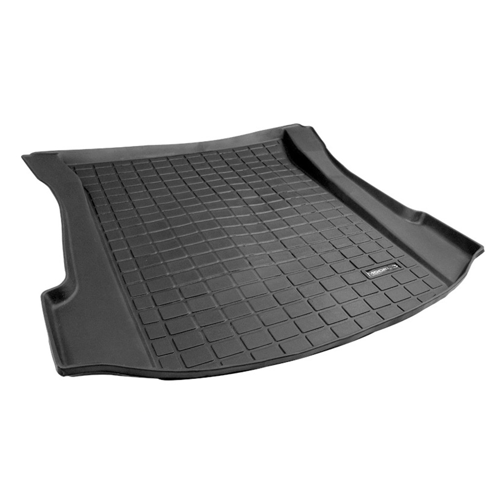 Car Cargo Liner Boot Tray Front Rear Trunk Cover Matt Mat Floor Carpet Mud Non-Slip Anti Dust Waterproof for Tesla Model 3 Floor Mats Front