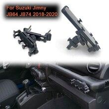 Suporte do telefone do carro ajustável para suzuki jimny jb64 jb74 2018 2020 original parafuso buraco posição suporte do telefone celular suporte